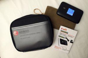 Bộ dụng cụ thu phát wifi khi đi du lịch Đài Loan