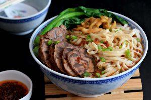 Mì bò món ngon của Đài Loan