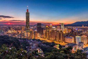 Tháp Đài Bắc Taipei 101 của du lịch Đài Loan